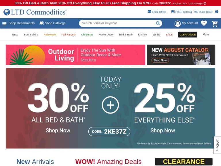 LtdCommodities Coupon Codes