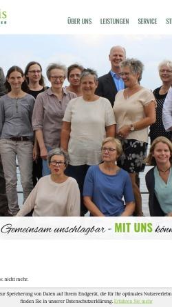Vorschau der mobilen Webseite www.lucas-weis.de, Joachim Lucas und Maria Weis - Steuerberater