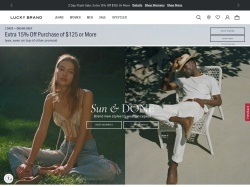 http://www.luckybrand.com coupon and discount codes
