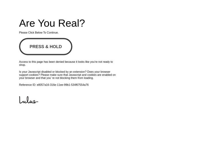 Lulus.com screenshot