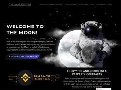 Lunar Registry Moon Property