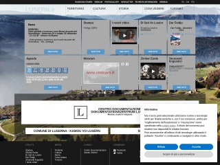 screenshot lusern.it