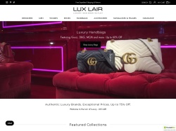 Lux Lair coupon codes March 2018