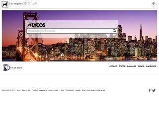 Captura de pantalla para lycos.com.mx