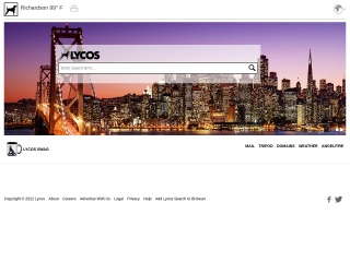 Screenshot for lycos.com