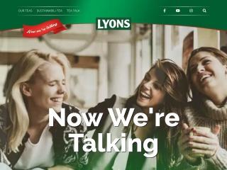 Screenshot for lyonstea.ie