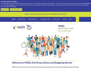Screenshot for mabs.ie