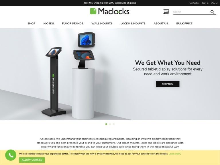 Maclocks screenshot