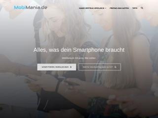 Screenshot der Website macmania.at