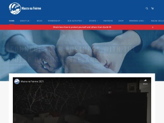 Screenshot for macra.ie
