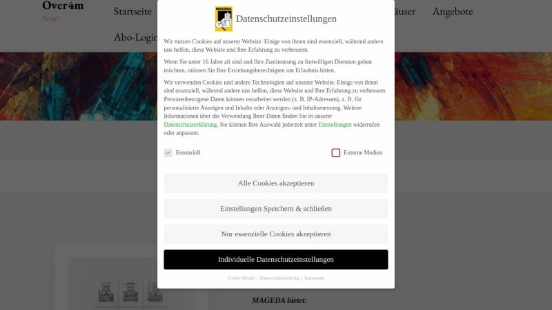 www.mageda.de Vorschau, MAGEDA - Maler- und Gemäldedatenbank