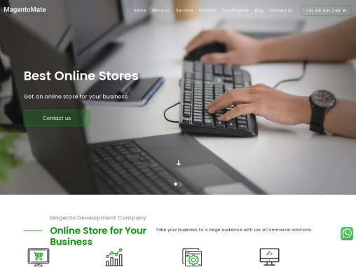Best magento development company | Magento website development company