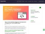 Magento ecommerce development services | Magento website development company