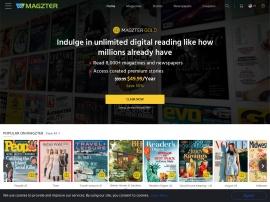 Online store Magzter