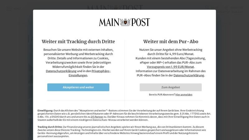 www.mainpost.de Vorschau, Main-Post GmbH & Co. KG