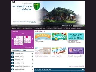 Capture d'écran pour mairie-schweighouse.fr