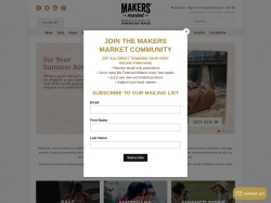 Makers Market Promo Codes 2019