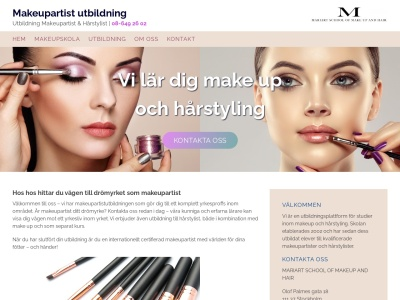 www.makeupartistutbildning.nu