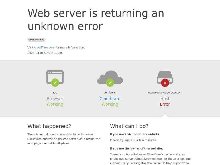 MakeWebVideo Coupon Codes screenshot