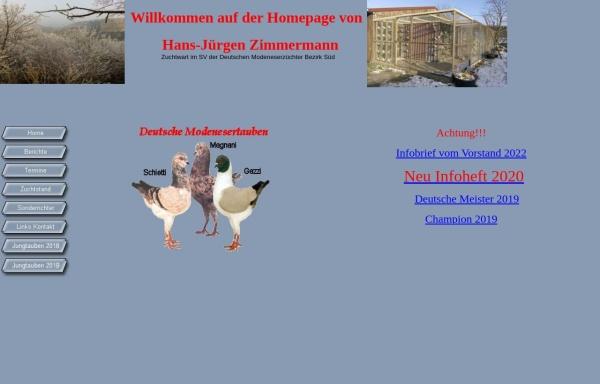 Vorschau von www.malerzimmermann.de, Deutsche Modeneser