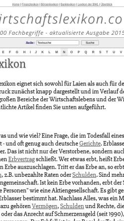 Vorschau der mobilen Webseite www.manalex.de, Manalex: Management-Lexikon