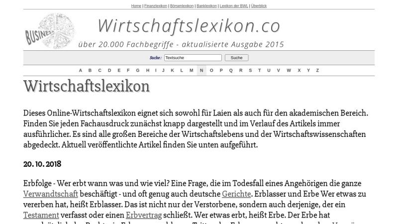 www.manalex.de Vorschau, Manalex: Management-Lexikon