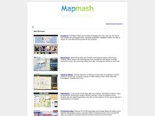 Screenshot for mapmash.in