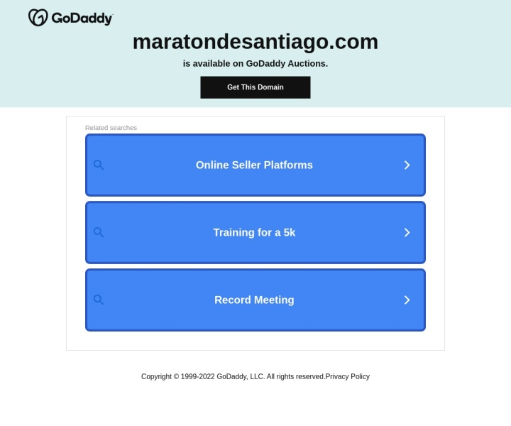 There is no page preview available for MARATÓN DE SANTIAGO 2014 at this moment. Please try again later.