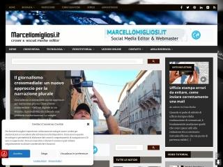 screenshot marcellomigliosi.it