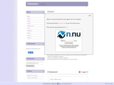 www.marianne.n.nu