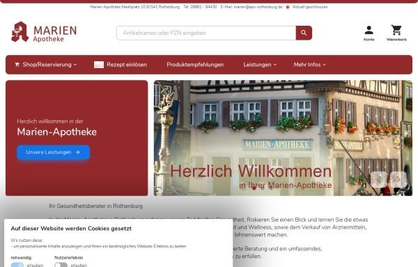 Vorschau von www.marien-apotheke.biz, Marien-Apotheke