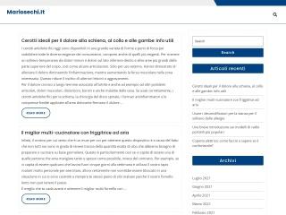 screenshot mariosechi.it