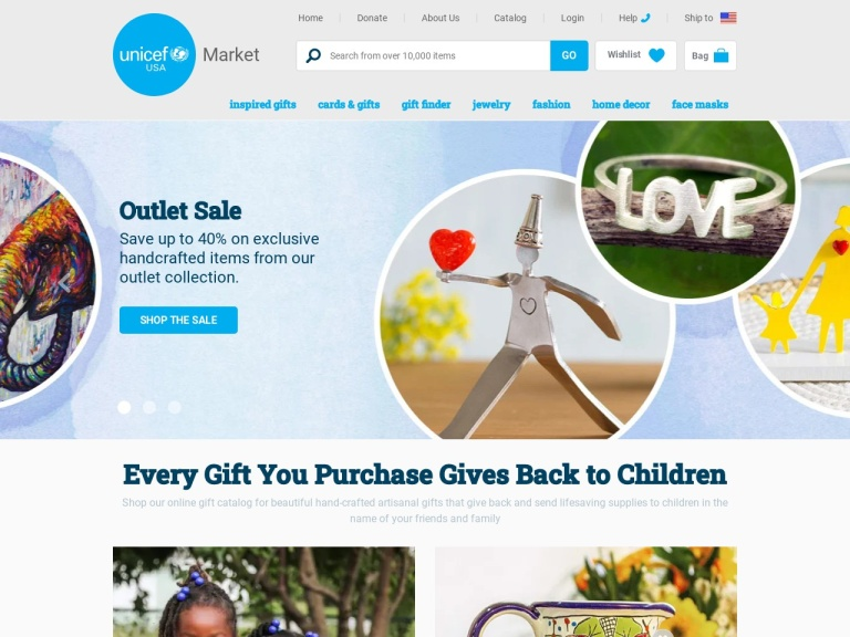 Unicef Market screenshot