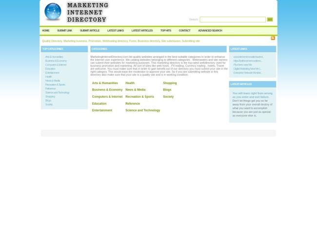 http://www.marketinginternetdirectory.com
