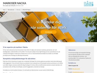 www.markisernacka.se