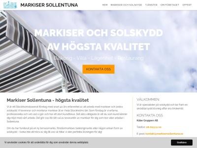 www.markisersollentuna.se