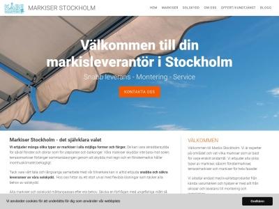 www.markisstockholm.nu