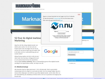 www.marknadsforing.n.nu
