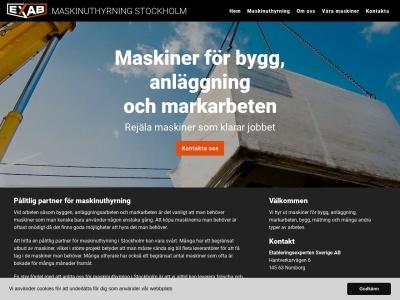 www.maskinuthyrningstockholm.se