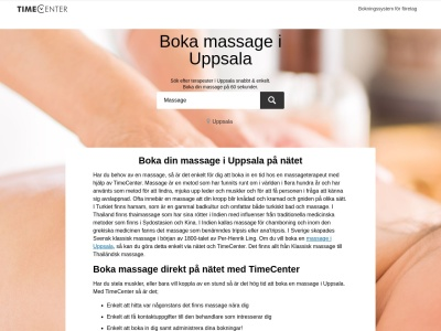 www.massage-uppsala.se
