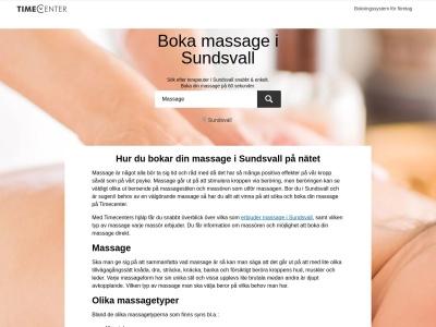 www.massagesundsvall.se