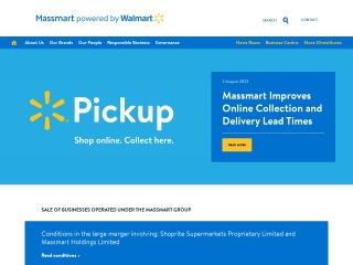 Screenshot for massmart.co.za
