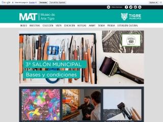 Captura de pantalla para mat.gov.ar