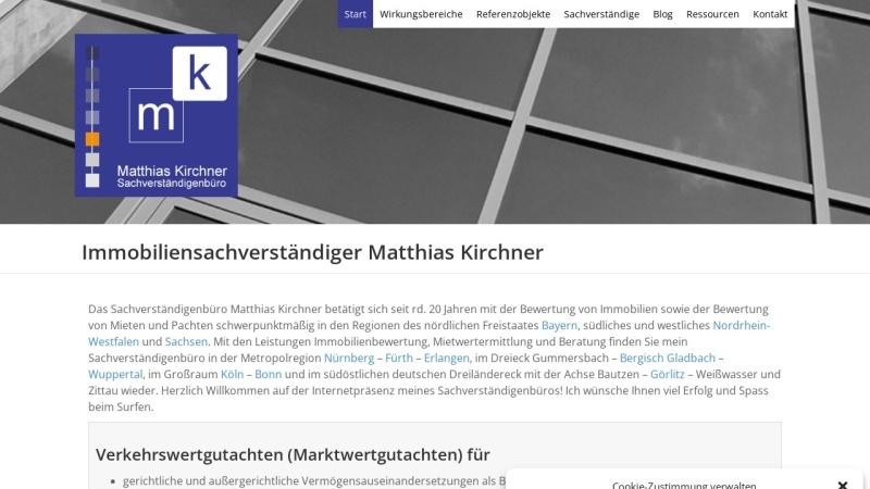 www.matthias-kirchner.de Vorschau, Kirchner, Matthias