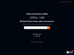 MAVA Activation Coffee
