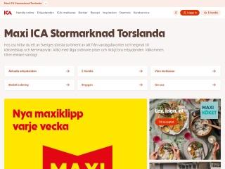 Skärmdump för maxitorslanda.se