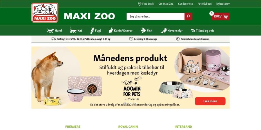 http://www.maxizoo.dk