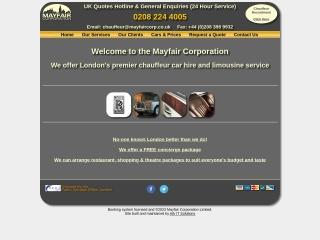 Screenshot for mayfaircorp.co.uk