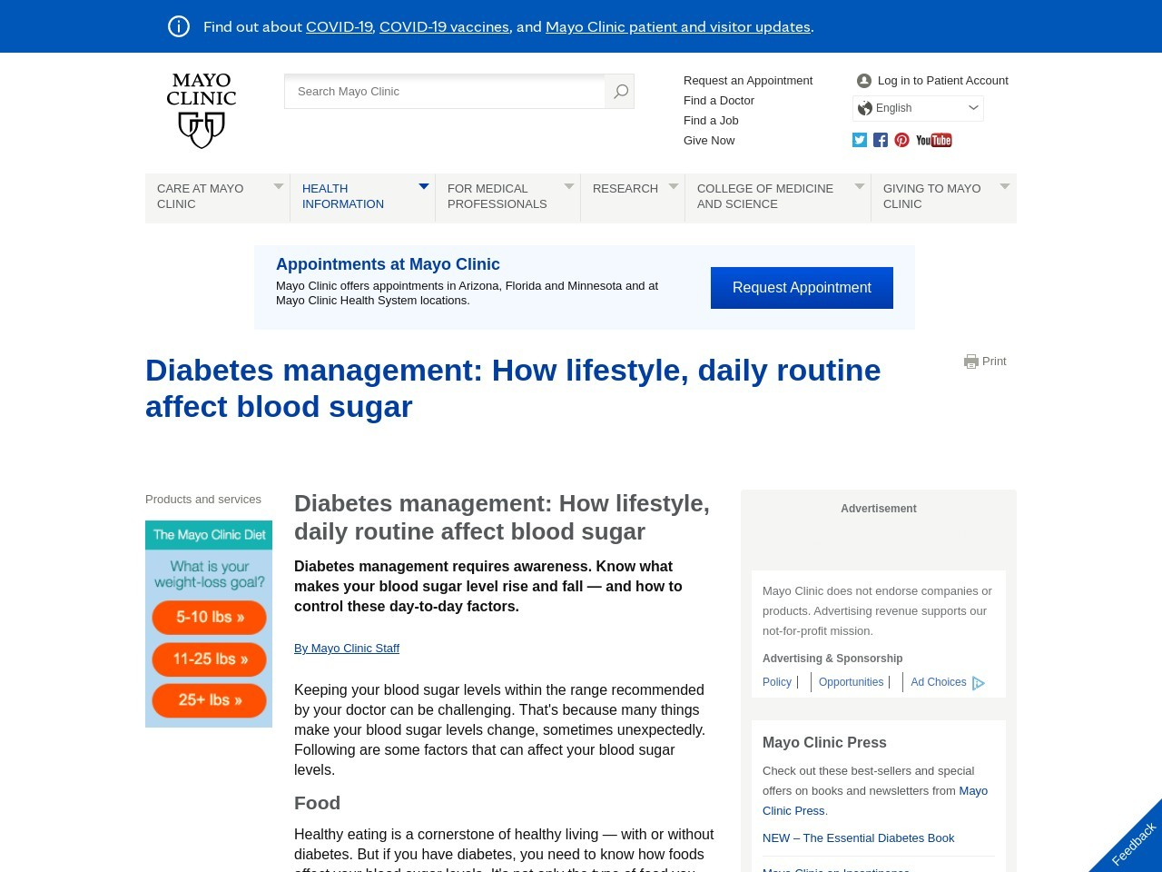 Diabetes is a big deal; lifestyle changes help