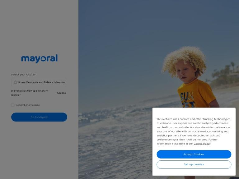 Mayoral screenshot